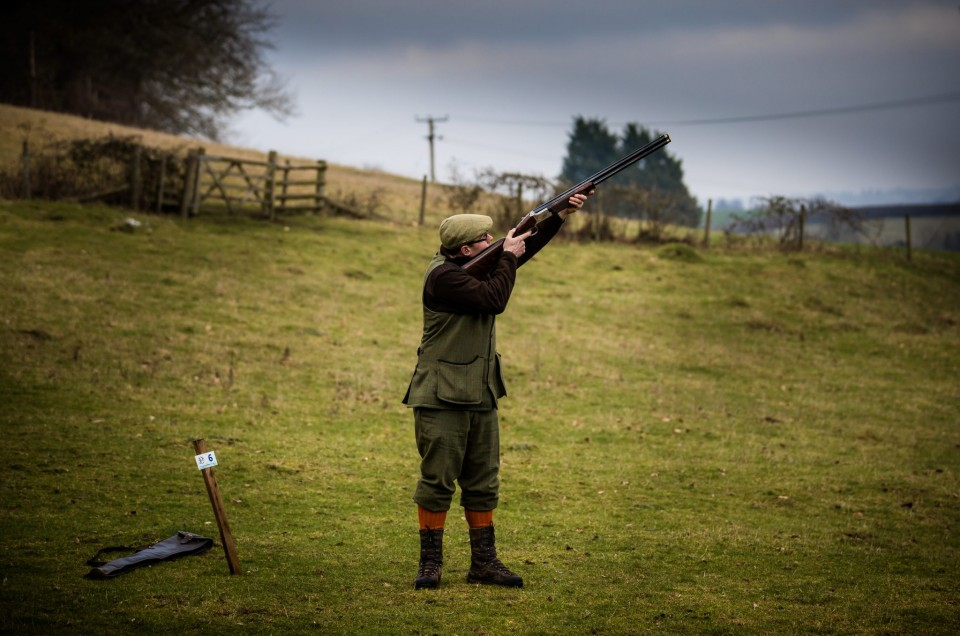 A great last day of the pheasant shooting season, Gloucestershire